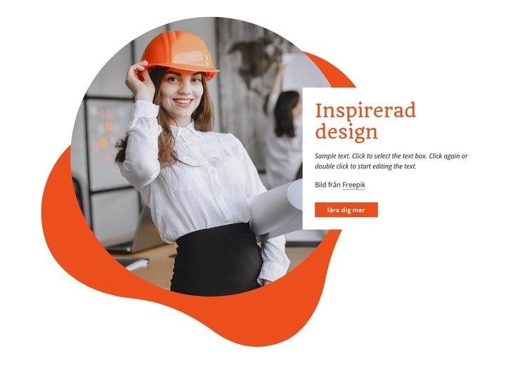 Vi bygger miljövänligt Webbplats mall