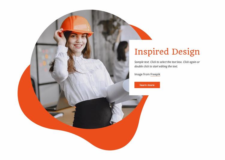 We build eco-friendly Website Template