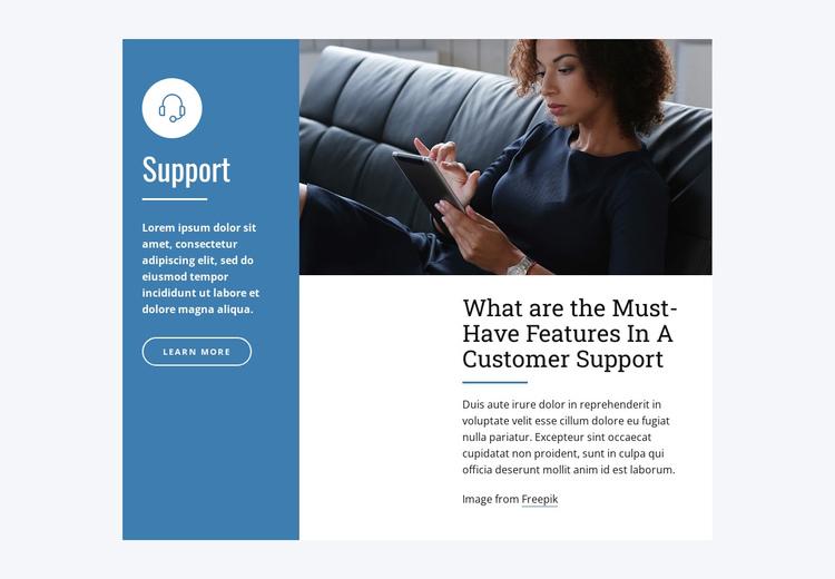 Live Chat Support Website Builder Software