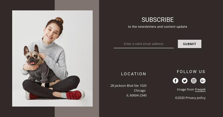 Contact us for help Website Design