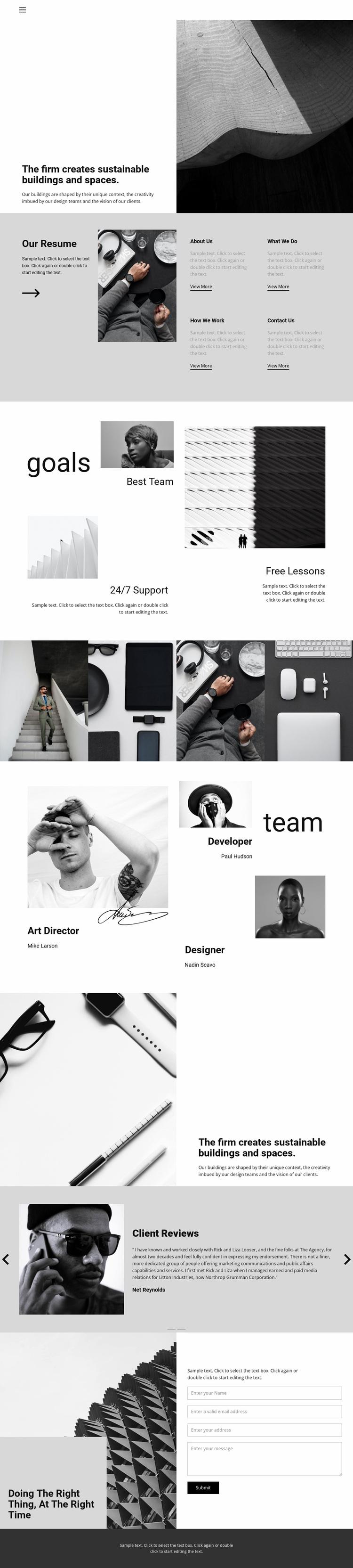 Hard work good result Website Design