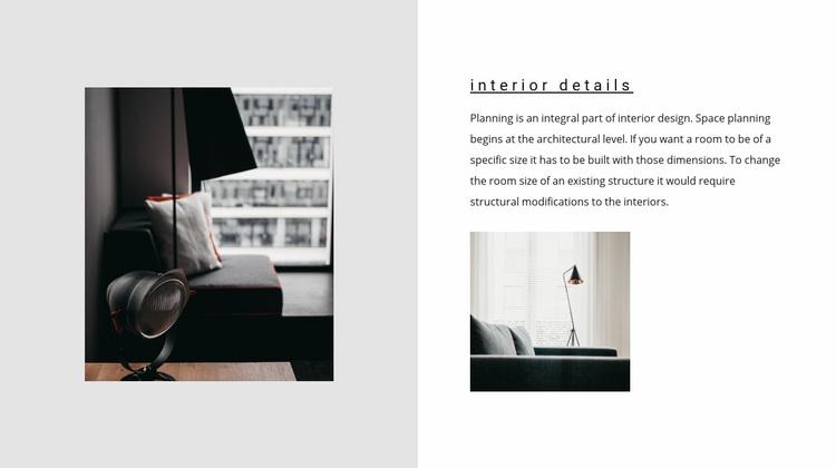 Important details Web Page Designer