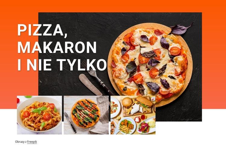 Pizza i makaron Szablon Joomla