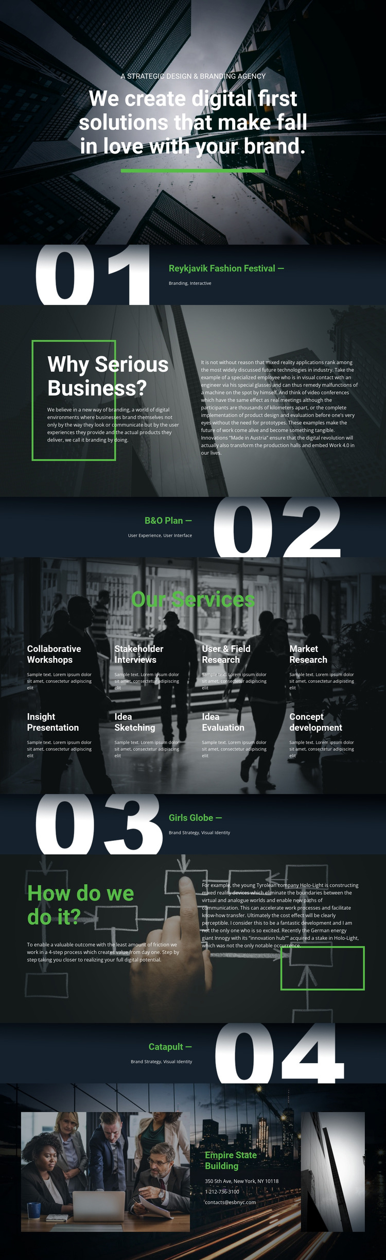 Digital first solutions HTML5 Template