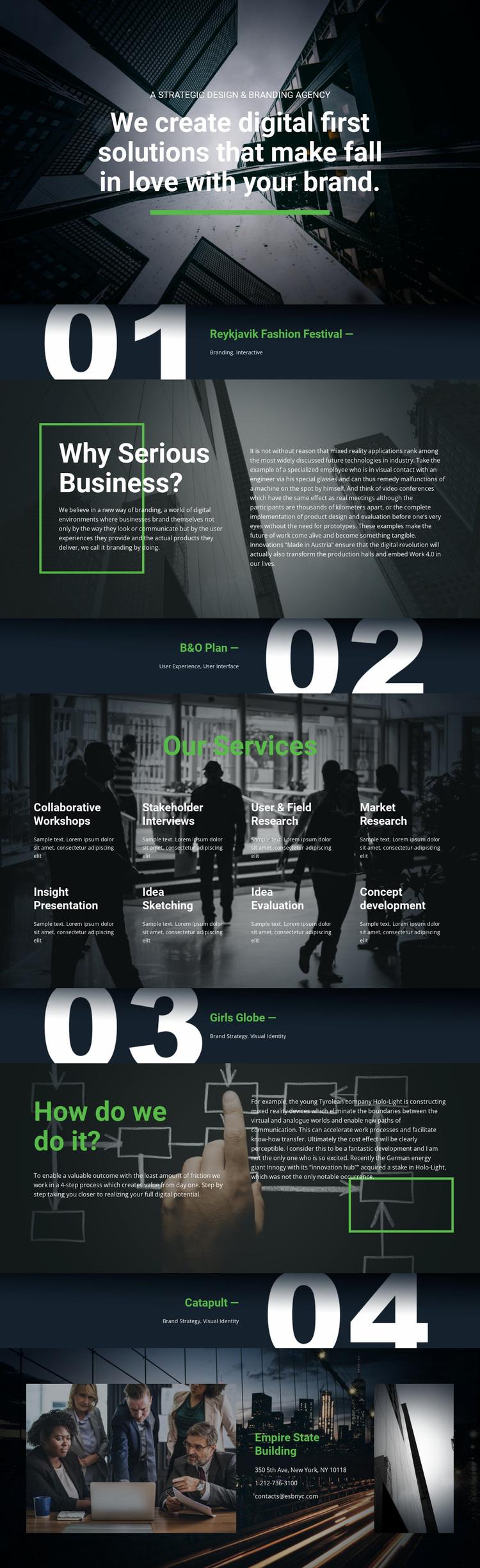 Digital first solutions Website Design