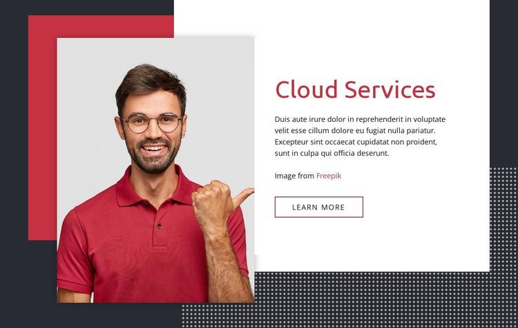 Cloud services Static Site Generator