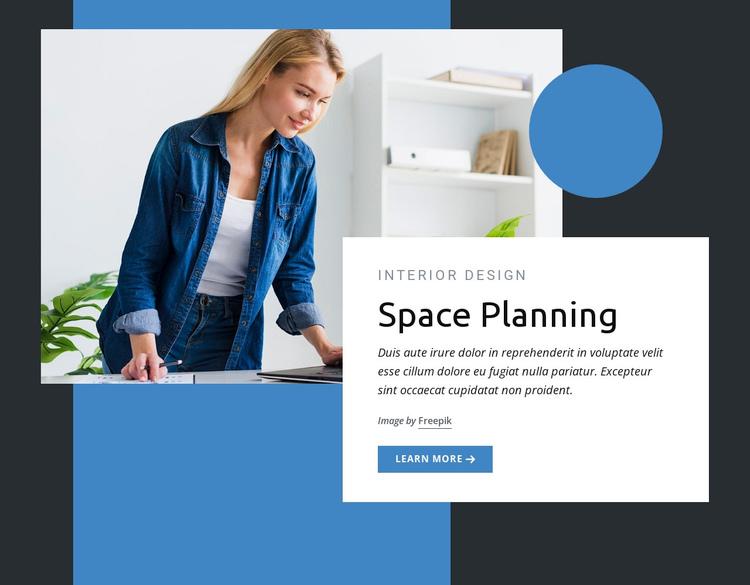 Space planning Website Builder Software