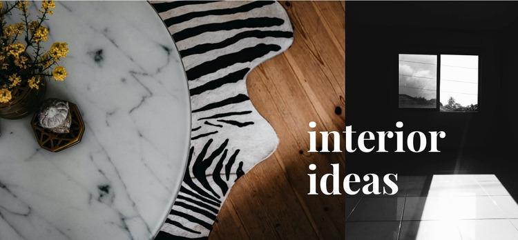 Read interior ideas  Html Website Builder