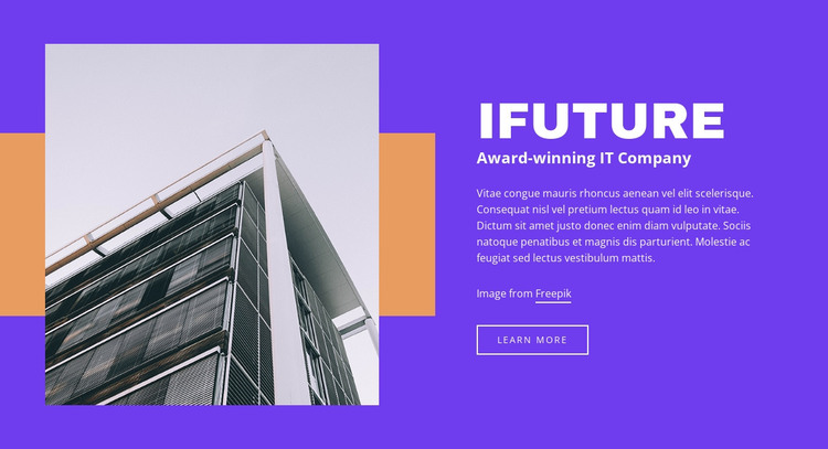 Reliable solutions for businesses HTML Template