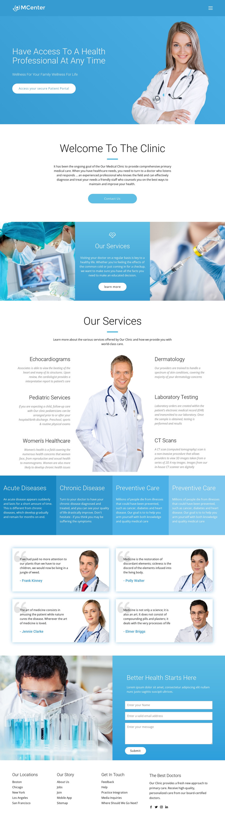 Pro health and medicine HTML5 Template