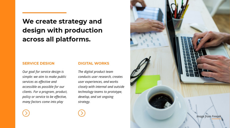 Corporate Identity HTML5 Template