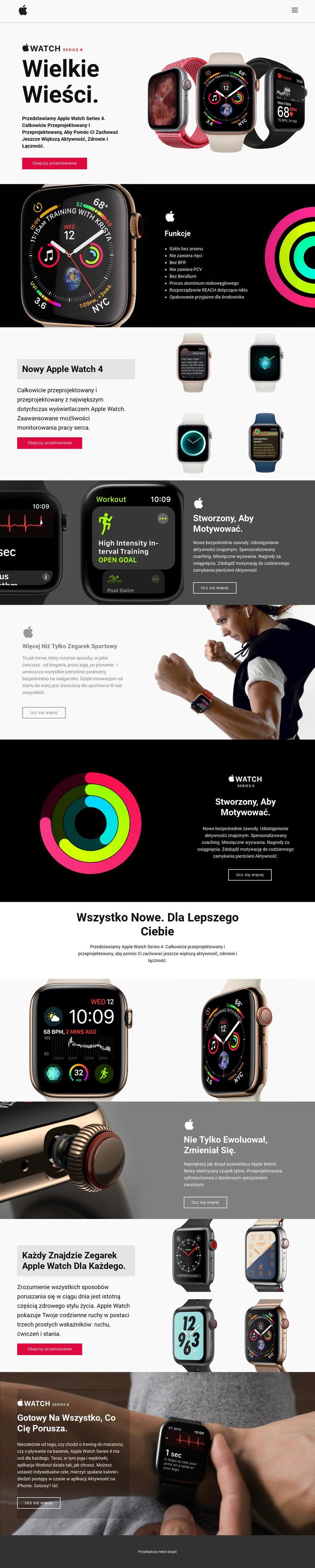 Wiadomości o technologiach Szablon witryny sieci Web