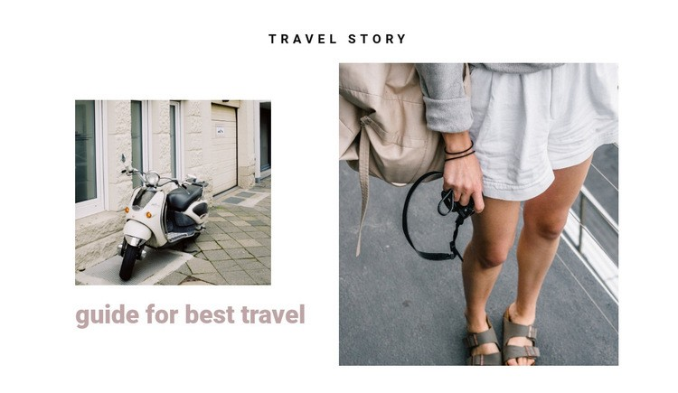 Traveling the streets of italy Web Page Design