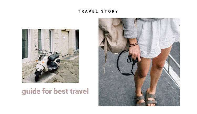 Traveling the streets of italy Web Page Designer