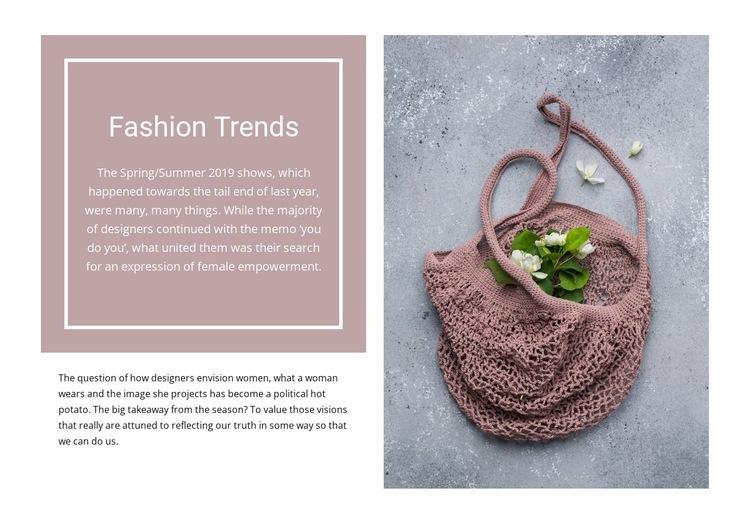 Eco trends Web Page Designer