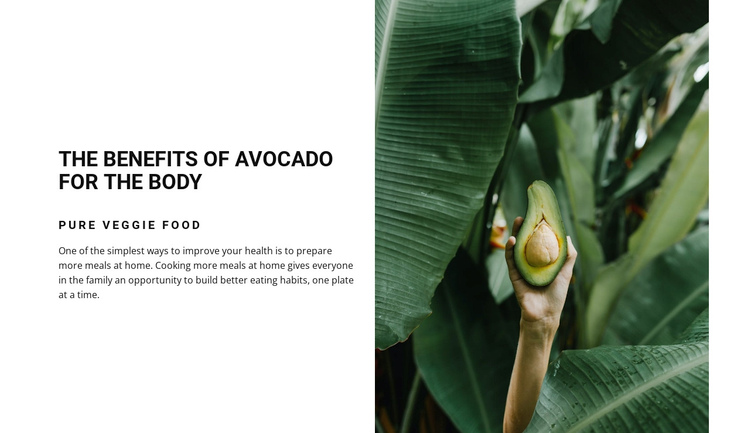 The benefits of avocado Website Builder Software