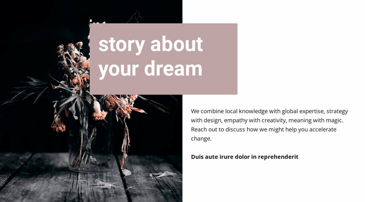 Story about your dream WordPress Website Builder