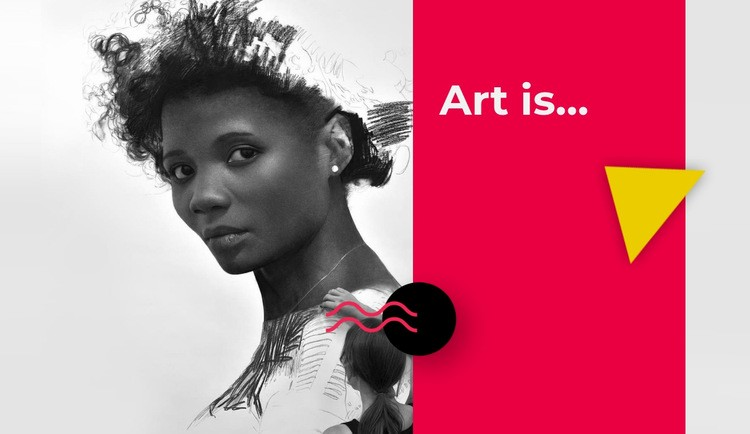 Portraits in pencil and charcoal Web Page Designer