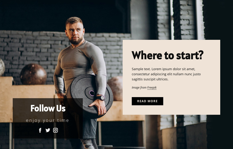 See our instructors in action HTML5 Template