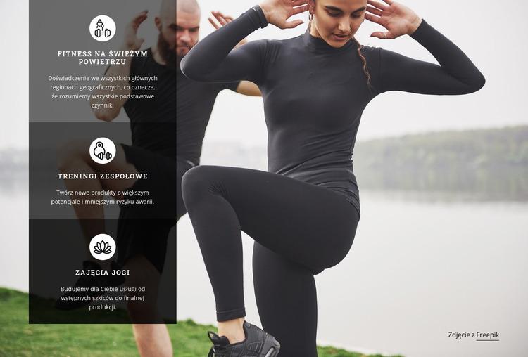 Buduj mięśnie i zrzucaj tłuszcz Szablon Joomla