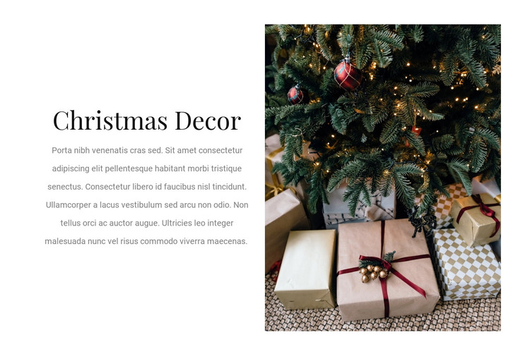 How to wrap a gift HTML Template