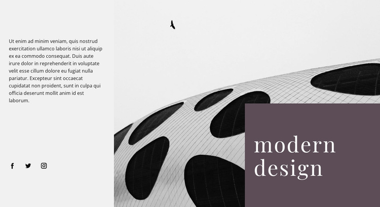 Alien forms in architecture Website Template
