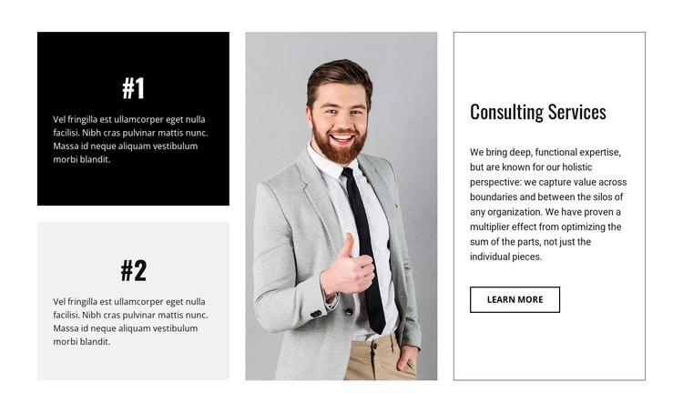 Business consultancy firm Website Builder Software