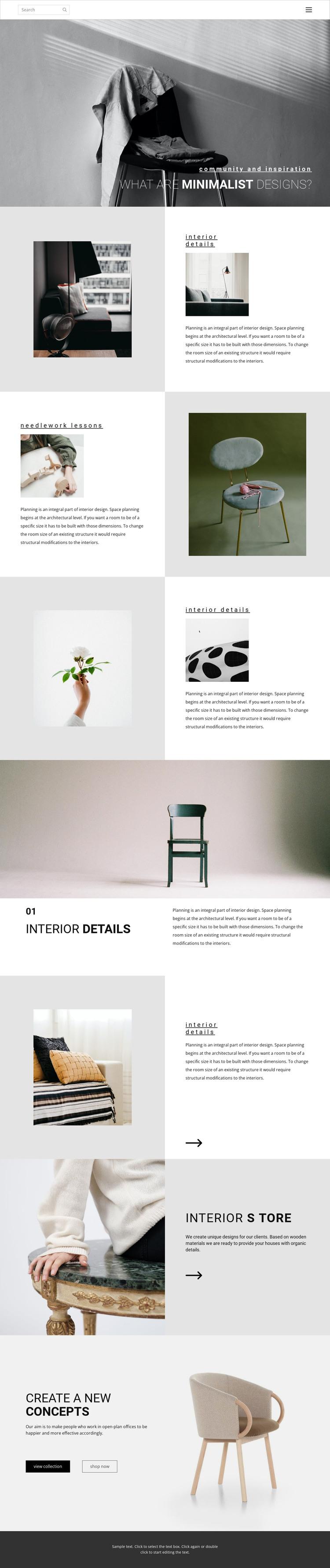 Make your home special Web Design