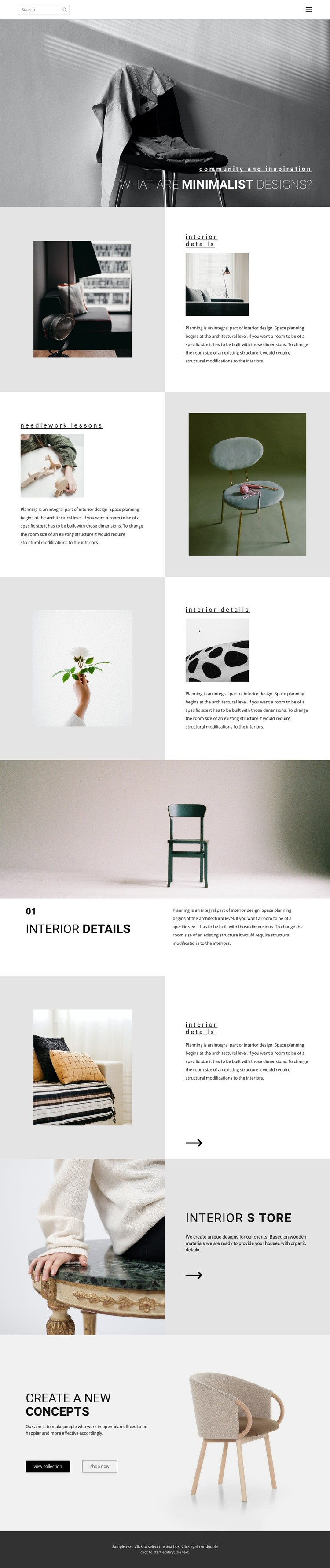 Make your home special Web Page Designer