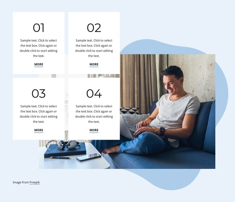 Reach your personal goals CSS Template