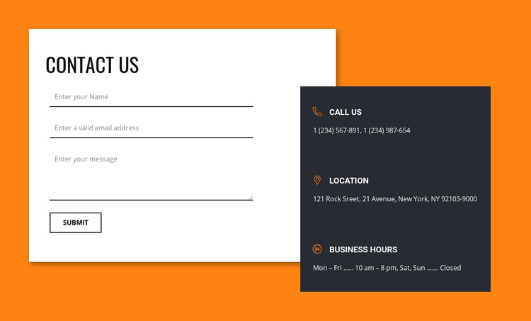 Connecting with us Web Design