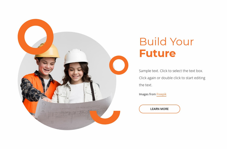 Future-proof your child's learning Website Design