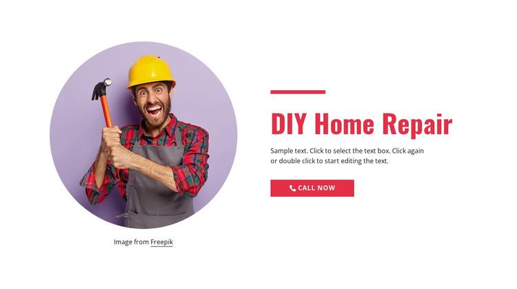 Step-by-step home repair Website Builder Software