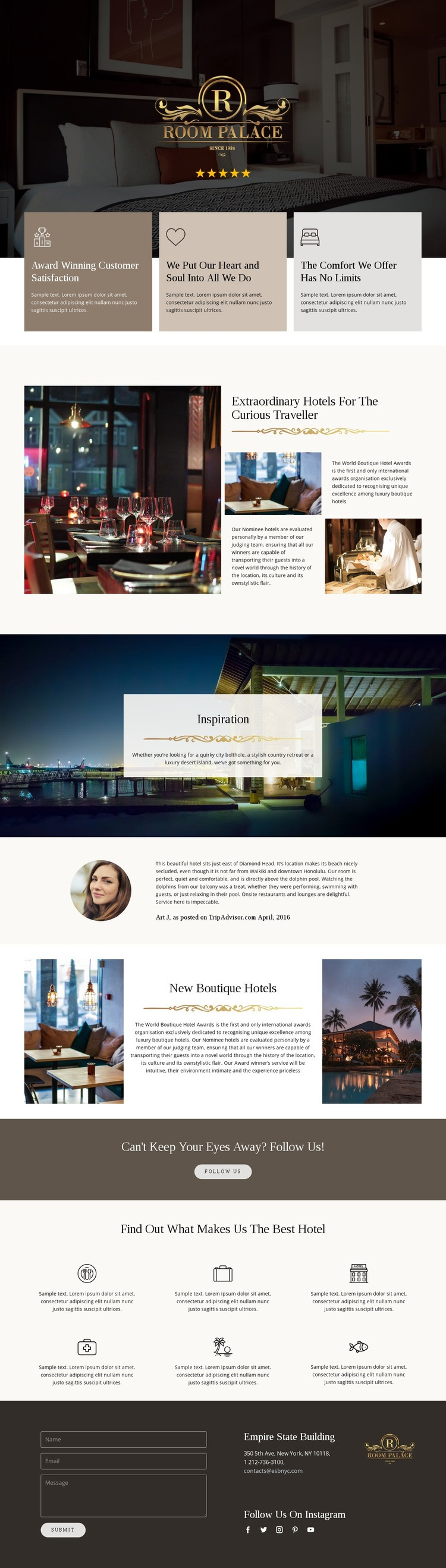 Unforgettable travel Html Code Example