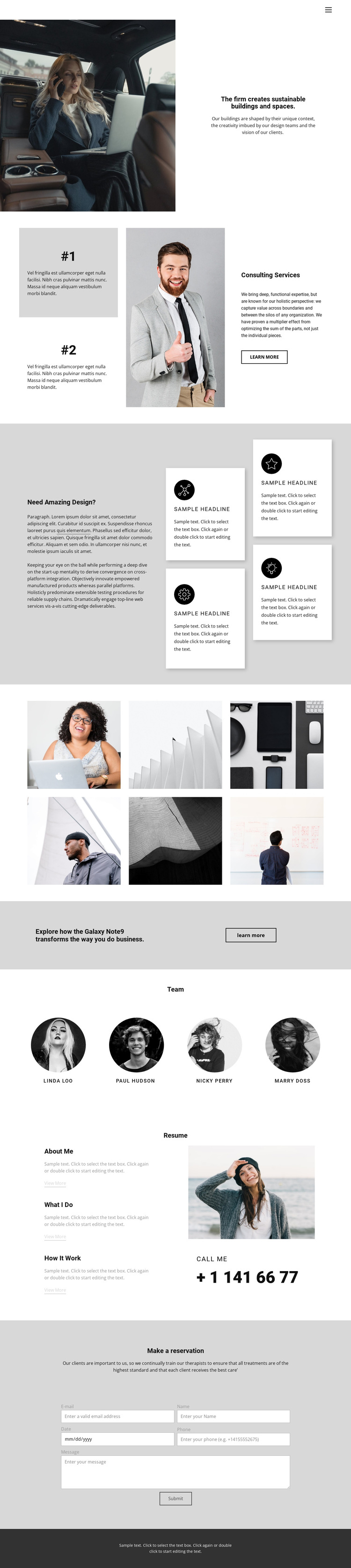 School of Successful Business HTML5 Template