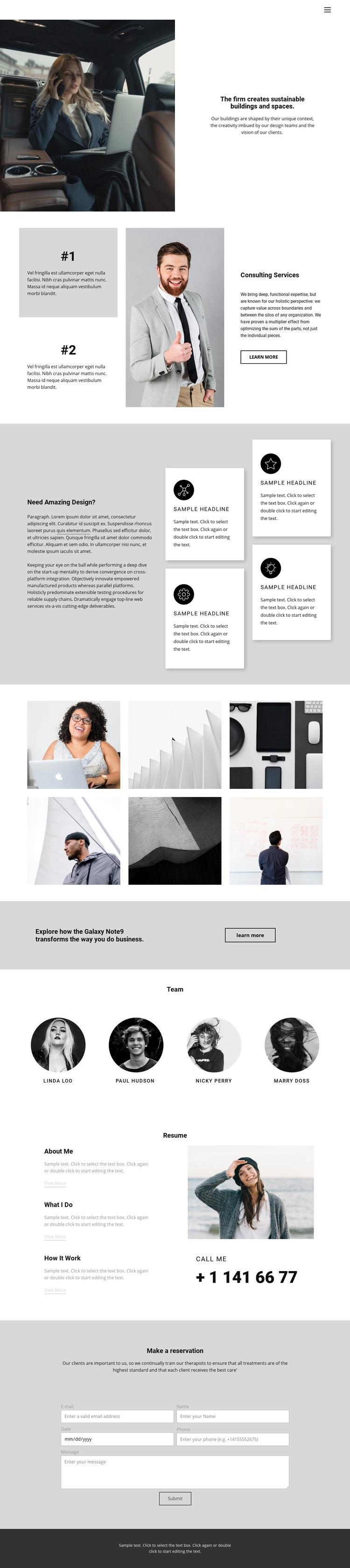 School of Successful Business Web Page Designer