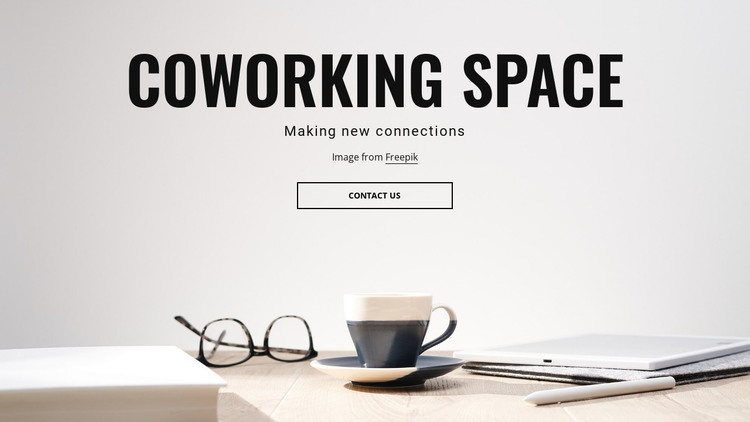 Shared workspaces HTML Template