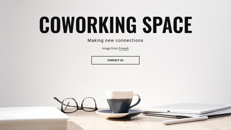 Shared workspaces Html Website Builder