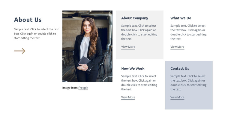 Strategy under uncertainty HTML5 Template