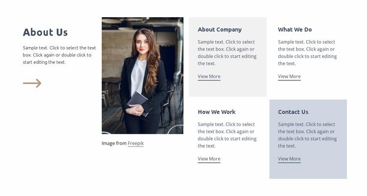 Strategy under uncertainty Website Template