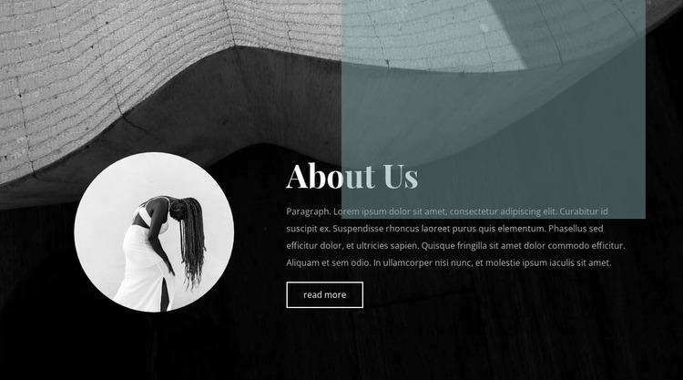 Style starts with us Website Mockup