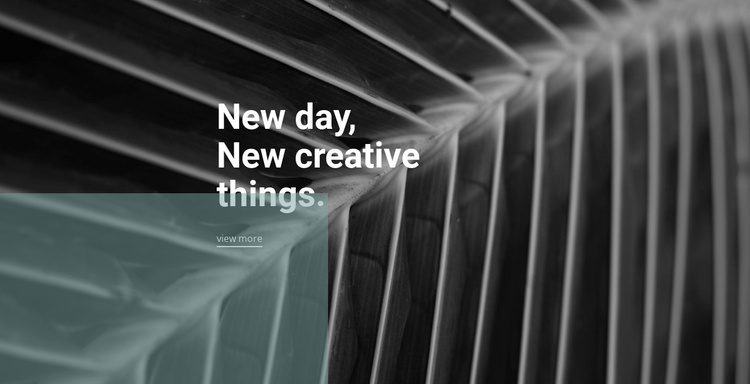 New designs every day Website Template