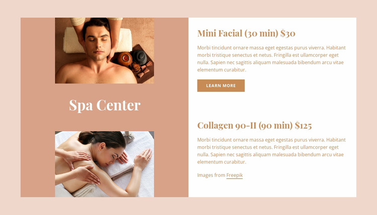 We offer relaxing Html Website Builder