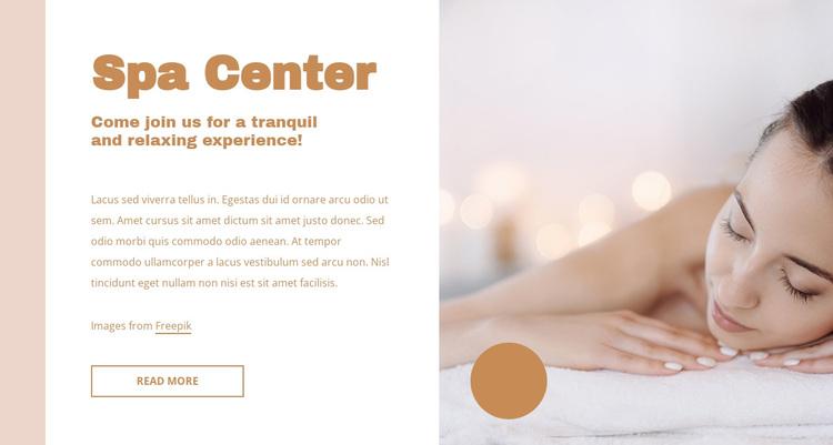 Perfect facial treatments Joomla Page Builder