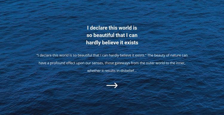Seascapes WordPress Website Builder