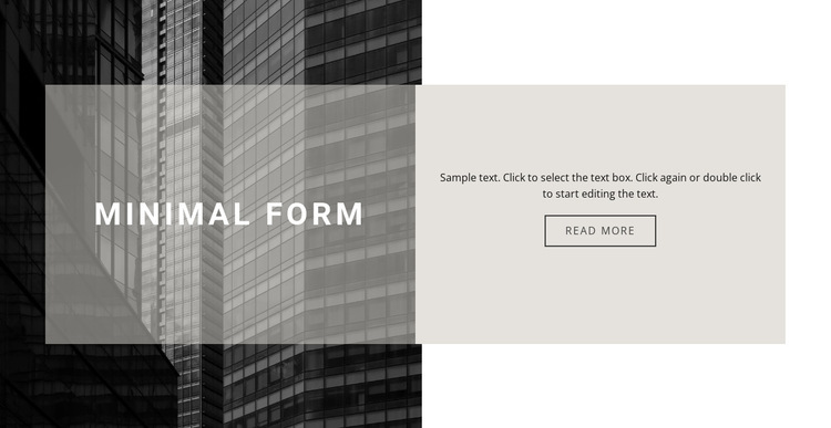Subtleties of construction HTML5 Template