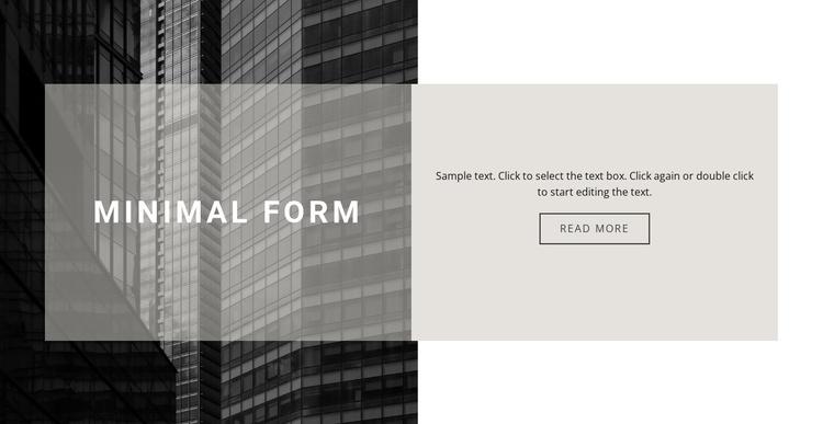 Subtleties of construction Joomla Template