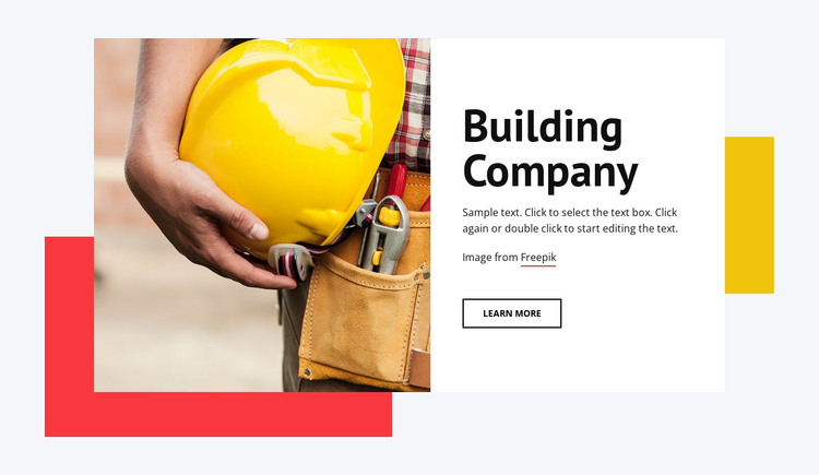 Tall buildings HTML Template