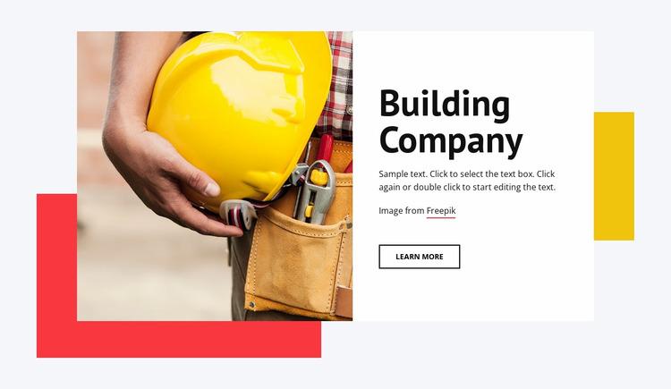 Tall buildings Html Website Builder
