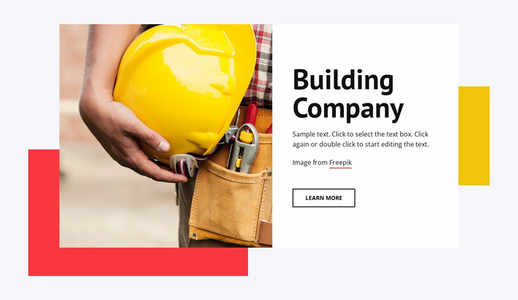 Tall buildings Website Template